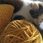poduszka ze sznurka